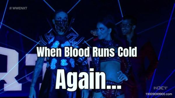When Blood Runs Cold Again...