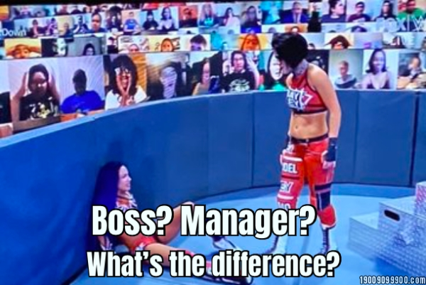Boss? Manager? What's the difference?