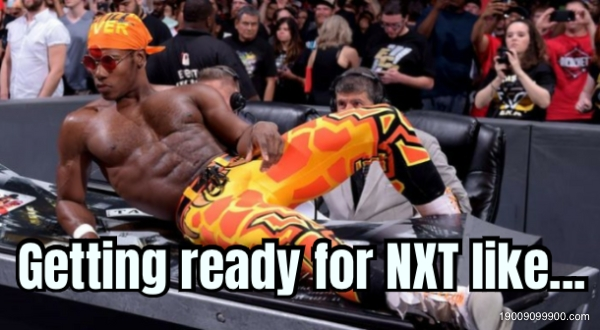 Getting ready for NXT like...