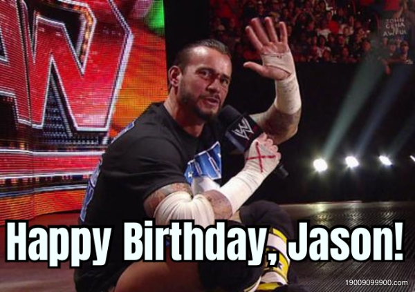 Happy Birthday, Jason!